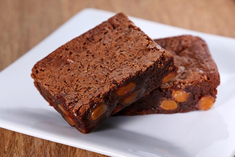 Gluten-Free Sea Salt and Caramel Brownies - Bertha Mae's ...