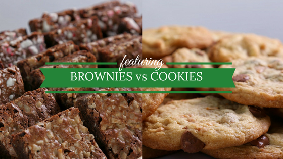 Brownies vs cookies